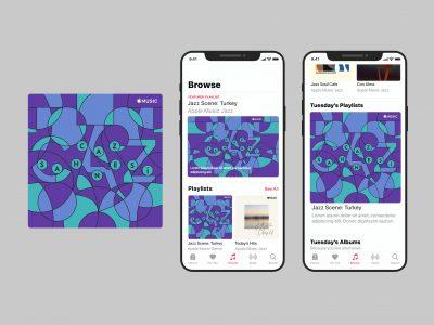 Apple Music/Cover design